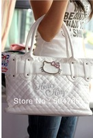 2013 Hot sale new Hello Kitty bags Classic Tote Bag Purse Handbags handbag black handbags