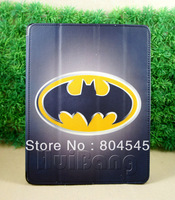 batman Magnetic Hard Leather Case + Smart Cover For New for iPad 2 / 3/4