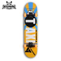 Backfire skateboard Skateboard,wooden skateboard,canada maple skate board,Professional Skateboard PU wheels