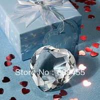 FREE SHIPPING+Choice Crystal Collection Heart Design Crystal Paperweight+100pcs/lot(RWF-0040U)