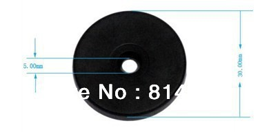 high quality RFID ABS Coin Tag/ Guard Tour System 125Khz Proximity Checkpoint Tag (100pcs/package)(China (Mainland))