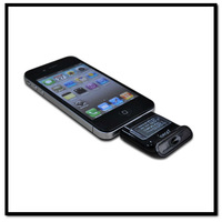 iPega Breath Alcohol Tester For iPhone 4 4S / iPod / iPad With LCD Digital Display Unique Dectector For Police or Personal