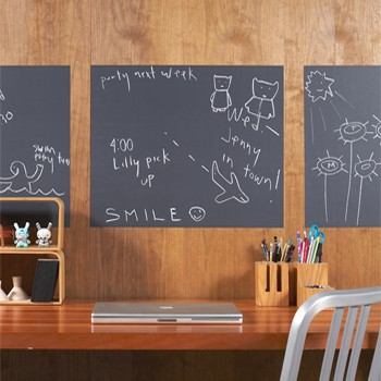 Eco-friendly factory direct chalkboard Vinyl Sticker with Free 5 Chalks 15pcs AUNZ(China (Mainland))
