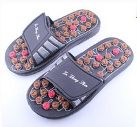 Bomb moxibustion rotary foot massage slipper, massage shoes free shipping