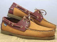 2013 Hot mens casual loafers boat shoes 100% cow leather man flat shoes sneakers for men size:36 to 46