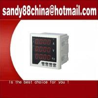 Free shipping  !  digital meter Panel meter,meter, Digital Meter Amp 96X96 three phase meter
