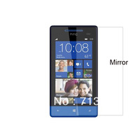 Free shipping 3pcs  for HTC 8S Windows Phone8S A620E Mirror screen protector guard film