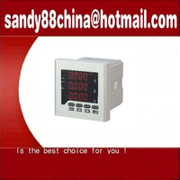 Free shipping  !  digital meter Panel meter, Intelligence meter, Digital Meter Amp 72X72 three phase meter
