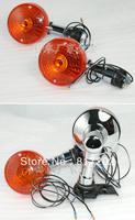 FREE SHIPPING Suzuki GN250 GN 250 Turn Signals / Indicator Lights Winker Blinker FRONT & REAR 4pcs / set