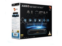 2013 newest hottest Selling Amiko 8900 Linux systerm enigma2 HD Receiver cheaper than dm800hd Good Function support 3G&amp;Youtube(China (Mainland))