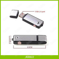 Dual Function 8GB Memory USB Disk & Usb Voice Recorder 1PCS/LOT