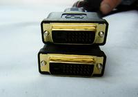 10pcs/lot 33FT/10m High quality DVI Cable,DVI M to M Black,Video Line For PC HDTV,24+5pin DVI-D 10pcs Free Shipping EMS