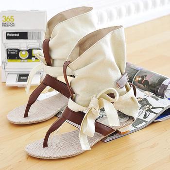 2014 NEW Big Size 34-43 Flat Sandals T starp Fashion Women Slippers High Quality Fashion Flat Shoes LT3445