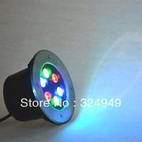 hot sale Free Shipping 6w Led Underground Light,Underground Lamp,6w Led Spotlight,Led Light Spotlight AC85-265V  2pcs/lot