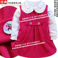 2012 children one-piece dress tank top dress children's clothing spring and autumn baby  tank dress