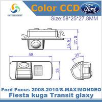 Car rear view camera For Ford Focus 2008 2010 S-MAX MONDEO Fiesta kuga Transit glaxy HD CCD car rearview camera