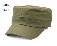 NEW 8 Colors Classic Solid Colors Plain Men Military Cap Blank Ladies Caps Army Hats Mens Flex Fit Hat Womens Visor Headwear S38