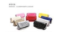 2013 plaid chains shoulder bag messenger bag plaid women's handbag small bags