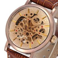 Simim male watch cutout fully-automatic mechanical watch waterproof mens watch strap