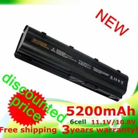 5200mAh Battery for Hp Pavilion dv5 dv6  dv7 430 431 435 630 631 635 636 650 655 G32 G72t  G42 G56  G72 MU09XL  WD548AA  mu06