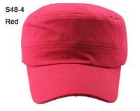 NEW 8 Colors Fashion Solid Colors Plain Men Military Cap Blank Ladies Caps Army Hats sport Mens Flex Fit Hat Womens Visor S38