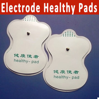 10pairs/lot electrode healthy pads massager pads for Tens Acupuncture slimming massager digital Therapy Machine free shipping