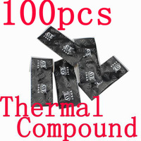 100 Pcs Gray Lot Of Heatsink Compound Thermal Paste Grease For PC XBOX 360 PS