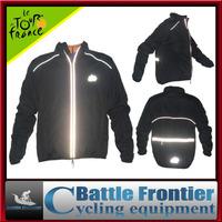 black 200g full sleeve polyster cycling wind rain coat jacket/autumn&winter windproof waterproof wear clothes S,M,L,XL,XXL,XXXL
