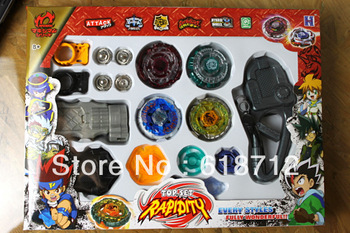 FREE SHIPPING  gyro suit  PROM Beyblade Spin Top Toy Clash Battle Beyblade Constellation Online Metal Fusion CE Multicolor