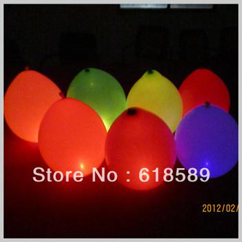 Free Shipping Binking  Wedding Decoration High Quality Magic Led Flashing Baloon with Flashing Led Balloons Lights(20pcs/lot)