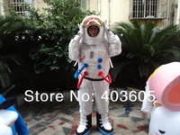 2013 Hot Sale ! High Quality Space suit mascot costume Astronaut mascot costume with Backpack with LOGO glove,shoesFree Shipping