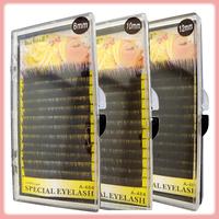 Eyelash extension ultra soft real human hair grafting eyelash extension 12 line