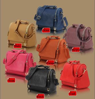 New arrived!2014 Fashion Korea Fashion Handbag PU Leather Ladies Hand Bag Shoulder Bag Cross Body Bags Women Wholesale