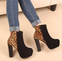 2012 winter female boots ultra high platform heels thick heel boots female boots platform shoes