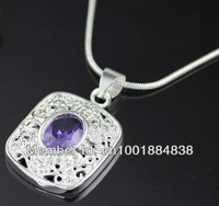 GY-PN642 Retail / wholesale Free Shipping 925 Silver fashion jewelry pendant Chain Necklace , 925 silver jewelry hmwa qeda yvma