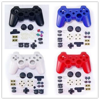 Free Shipping Replacement Full Housing Shell Case For PS3 Wireless Controller