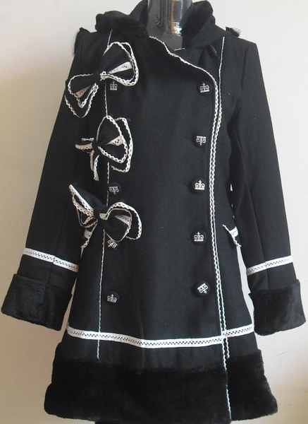 supplier lolita clothing punk clothing lolita coats(China (Mainland))