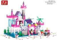 Banbao Palace Dance 6366 Girl Building Block Sets 550pcs Educational Jigsaw Construction Bricks toys for children