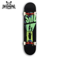Backfire skateboard  complete  skateboard  wholesale--inverted image