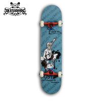 Backfire skateboard  four wheel Canadian maple wood complete skateboard for adults, trucks--Monkey King