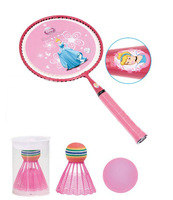 Children Junior Kids Outdoor Sport Cartoon Princess Badminton Racket