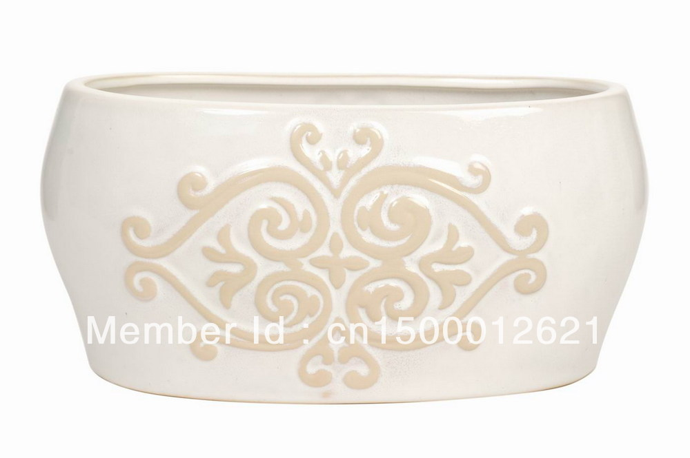 "10""L ceramic planter(China (Mainland))"