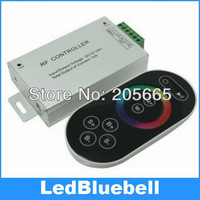 RF Wireless Touching Remote Control Black for RGB LED Light Strip