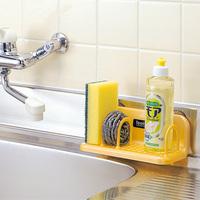 Suction wall shelf storage rack finishing frame water sponge clip 4