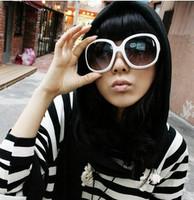 Fashion vintage star y24 style big box women's Women sunglasses fashion women's sun glasses