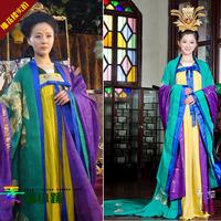 2013 costume luxury queen costume tang dynasty skirt Sweets queen