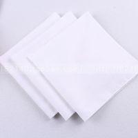 soft cotton breathe cartoon handkerchief cotton child 100% women's handkerchief 100% cotton squareinto white