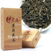[GRANDNESS] Promotion! 100g Organic Jasmine Silver Needle Tea Green Tea, Chinese Premium Jasmine Green Tea +Free shipping