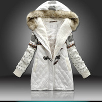 Winter women's medium-long down coat female 2012 METERS BONWE down coat female