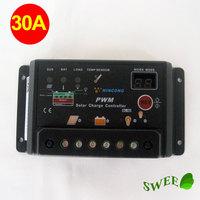 30A Solar Charge Controller 12/24v, solar regulator